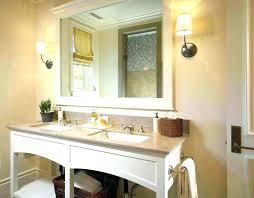 frame a bathroom mirror designpringga co