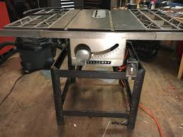 Fine Tuning A Vintage Craftsman Table Saw Telecaster Guitar Forum