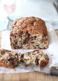 chocolate chip banana bread with