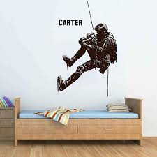Amazon Com Soldier Wall Decal Soldier Wall Decor Soldier Wall Sticker Military Wall Decals For Boys Room Military Wall Art Stickers Decals Ik3770 Handmade