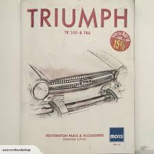 triumph tr250 tr6 parts and
