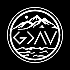 Amazon Com God Is Greater Than The Highs And The Lows Nok Decal Vinyl Sticker Cars Trucks Vans Walls Laptop White 5 5 X 5 5 In Nok859 Arts Crafts Sewing
