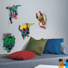 Shop Roommates Marvel Superhero Burst Peel And Stick Giant Wall Decal Overstock 9909057