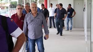 Presidente Leco inaugura Restaurante do Futebol Social - Portão 7