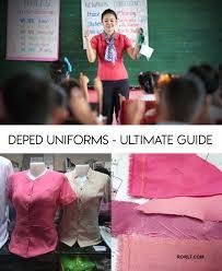 2019 2020 deped uniform design