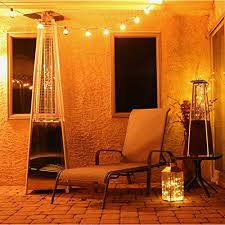 pyramid tabletop propane patio heater