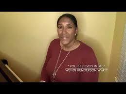 "Wendi Henderson Wyatt ""You Believed in Me"" - YouTube"