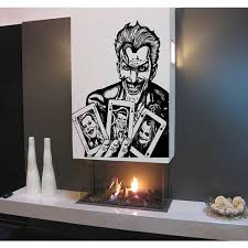 Shop Joker Playing Card Superheroes Decal Superheroes Stickers Superheroes Vinyl Sticker Decal Size 22x30 Color Black Overstock 13414733