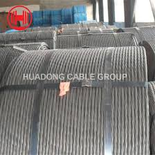 China 1x7 Diameter Astm A 475 High Tensile Galvanized 7 Wire 0 33mm Pc Steel Strand China Steel Wire Strand Prestressed Wire