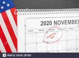 November 3, 2020 Election day concept ...