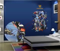 3d Transformer Wall Sticker Boys Room Wall Decals