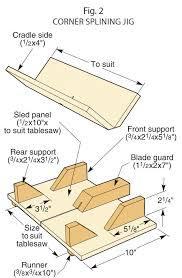 Table Sawn Splines
