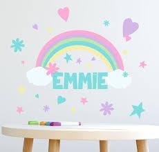 Rainbow Wall Decals Murals