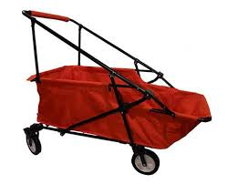 collapsible folding wagon utility cart