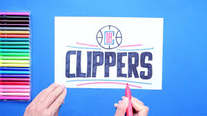draw the LA Clippers logo (NBA Team ...