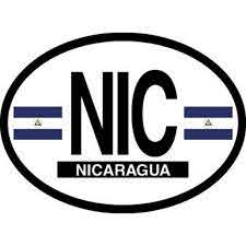 Nicaragua Oval Decal For Auto Truck Or Boat Walmart Com Walmart Com