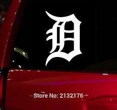 Detroit Tigers Old English D Baseball Sports Game Window Decal 5 5 Vinyl Sticker For Laptop Ipad Wall Car Truck Motorcycle Vinyl Stickers Window Decalsvinyl Stickers For Cars Aliexpress