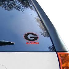 University Of Georgia Car Decals Decal Sets Georgia Bulldogs Car Decal Shop Georgiadogs Com