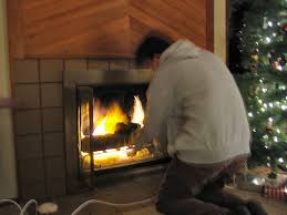 natural gas fireplace to wood burning