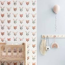Studio Ditte Wallpaper Forest Animals Just Kids Wallpaper