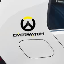 Earlfamily 13cm X 10 7cm For Junkrat Gallery Overwatch Car Stickers And Decals Personality Suitable For All Types Of Vehicles Car Stickers Aliexpress