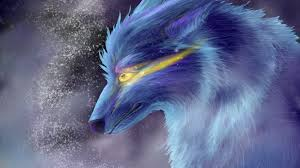wolf wallpaper ice wolf by airokat