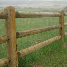 Forest Products Distributors 3 Hole Cca Treated Corner Post Fence Posts Fencing Farm Ranch