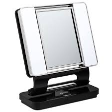 ottlite natural lighted makeup mirror