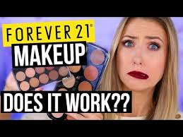 or bye forever 21 makeup what