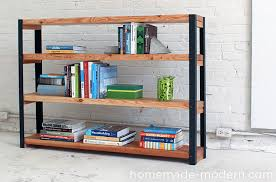 10 diy bookshelf ideas with stylish designs