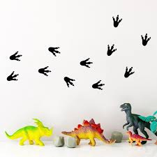 Hot Discount 8cdc2 Dinosaur Paw Print Wall Decals Vinyl Stickers Cartoon Dinosaur Claw Pattern Wall Stickers For Kids Room Cute Decor Cicig Co