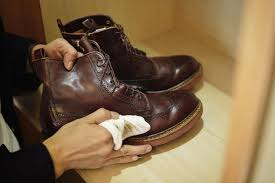 proper leather shoe treatment