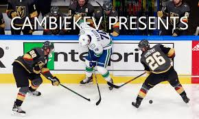 Game Two vs. the Vegas Golden Knights ...
