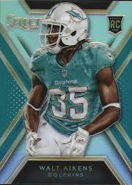 2014 Select Prizm Miami Dolphins Fútbol Tarjeta #193 Walt Aikens | eBay