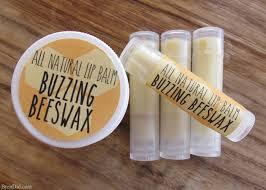 homemade organic beeswax lip balm