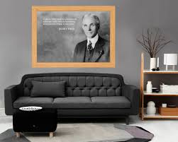 Henry Ford Quote Henry Ford Decal Motivation Decal Henry Ford Print Motivation Art Decor Science Poster Quotes Wall Art Gift For Engineer