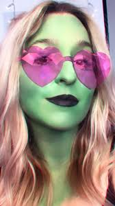 wicked witch makeup fungal acne
