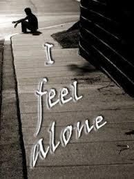 feeling sad alone whatsapp dp