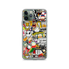 Amazing Sticker Collage Iphone Case For 11 11 Pro 11 Pro Max Xs Xs Max Xr X 8 8 Plus 7 7plus 6 6s