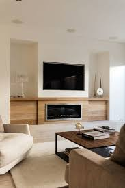 tv above fireplace living