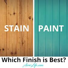 Which Finish Is Best For Your New Wood Fence Acre Life Diy