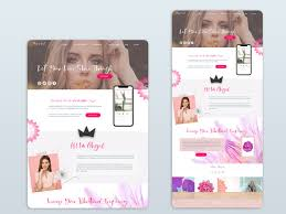 Abigail West   Beauty Themed Wellness Homepage by Nikolas James on Dribbble