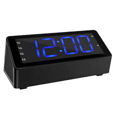 am fm radio alarm clock led display