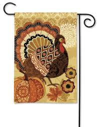 turkey time garden flag louis clark