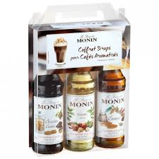 monin coffee monin syrup set 3 x 25 cl