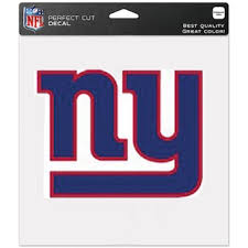 New York Giants Car Decals Giants Bumper Stickers Decals Fanatics
