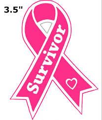 Breast Cancer Survivor Pink Ribbon Decorative Car Truck Decal Window Sticker Vinyl Die Cut Awareness Disease Support Walmart Com Walmart Com