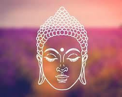 Buddha Decal Etsy