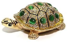 jewelry box with swarovski crystal
