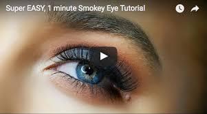 smokey eyes video tutorials on you